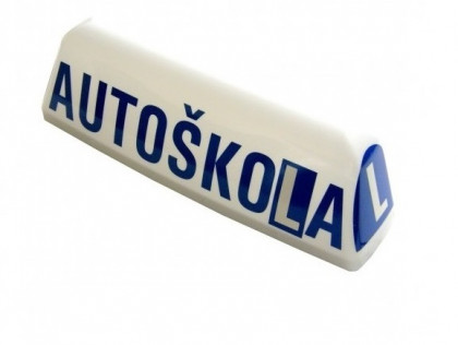 Klobouk Autoškola Diametral (transparent)